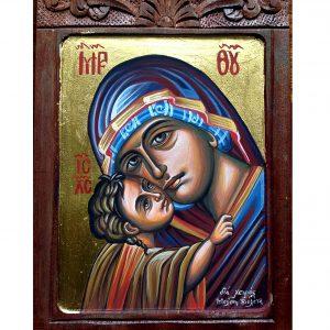 Αγιογραφία Παναγία η Γλυκοφιλούσα