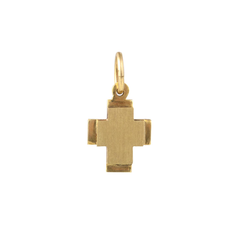 Χρυσός Βαπτιστικός Σταύρος Κ14