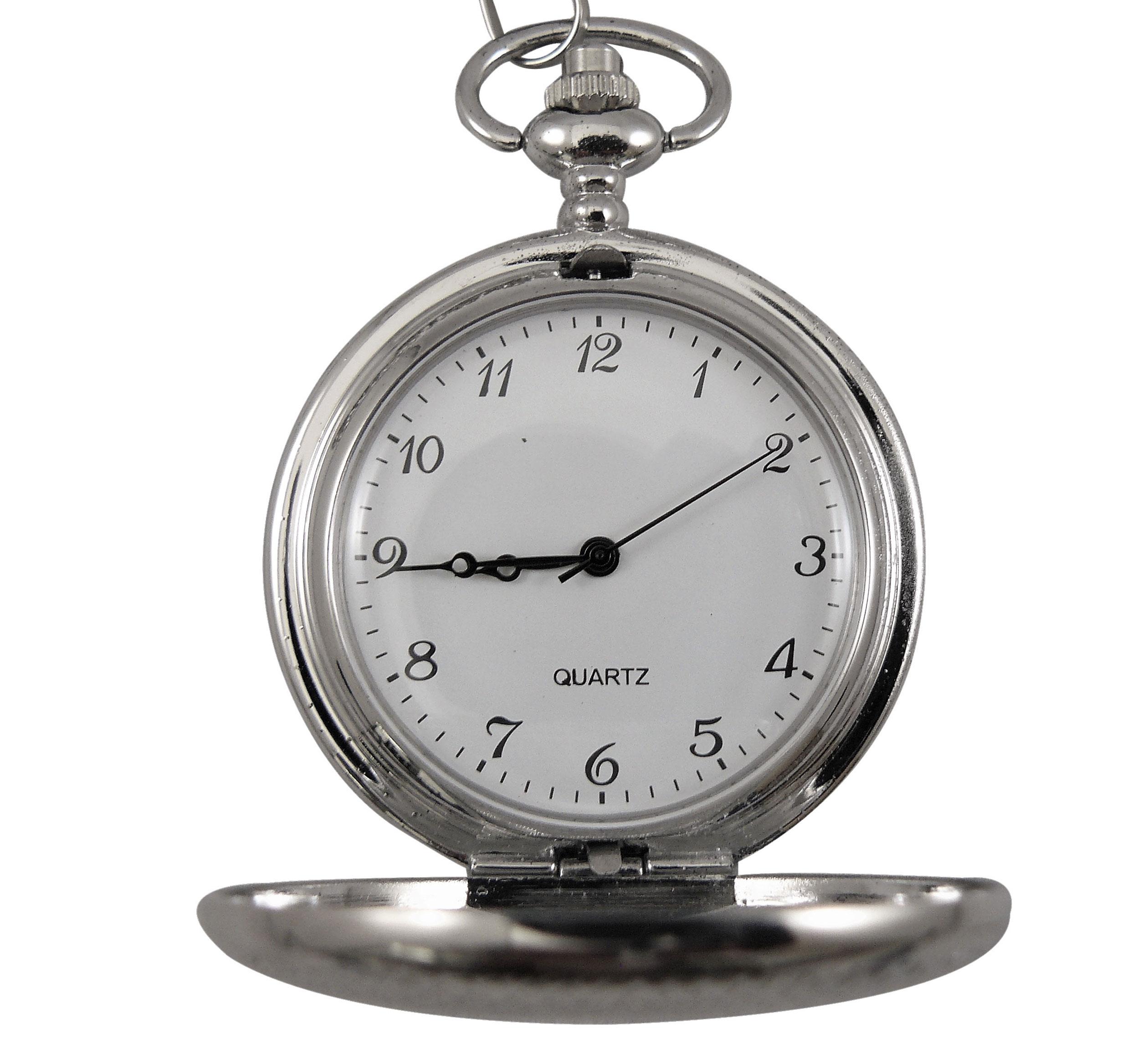 QUARTZ Ρολόι Τσέπης με Αλυσίδα  407b457fb4c