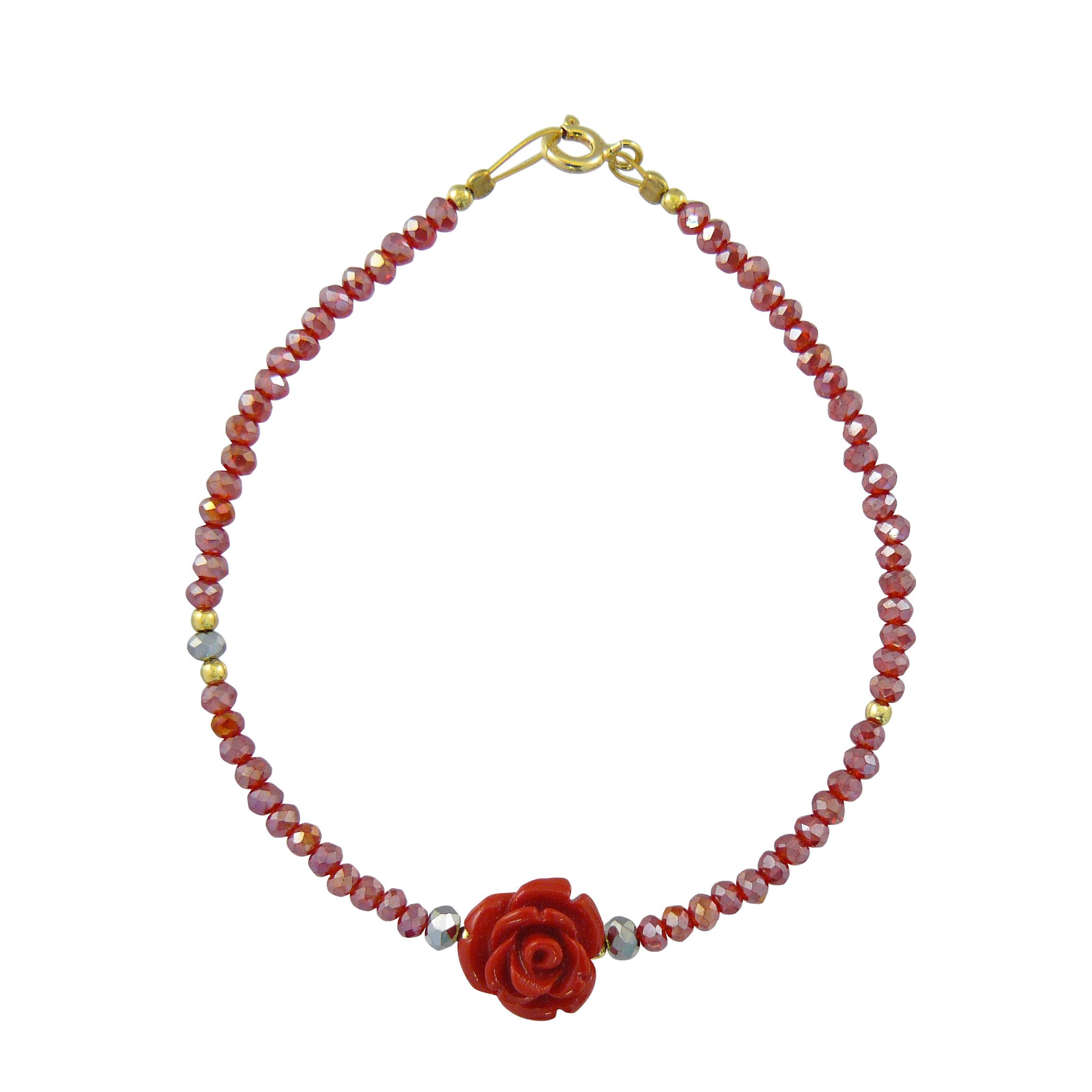 Γυναικείο Βραχιόλι Λουλούδι