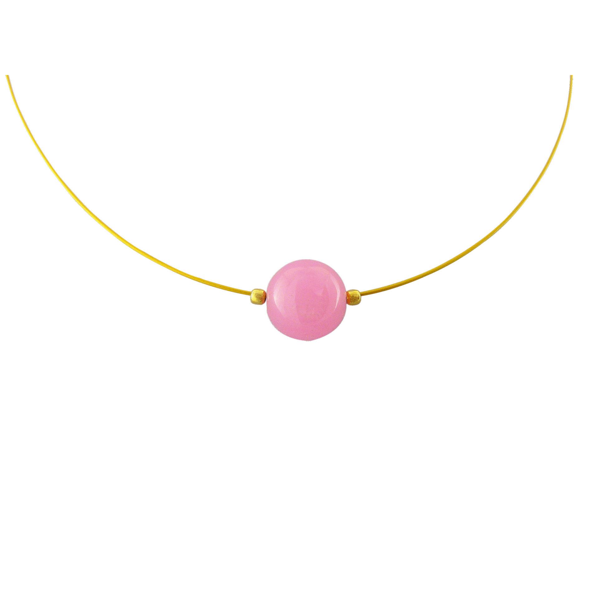 Γυναικείο Μεταγίον με Ροζ Χαλαζίας - Ενεργειακή Πέτρα της Αγάπης (Silver 925°)