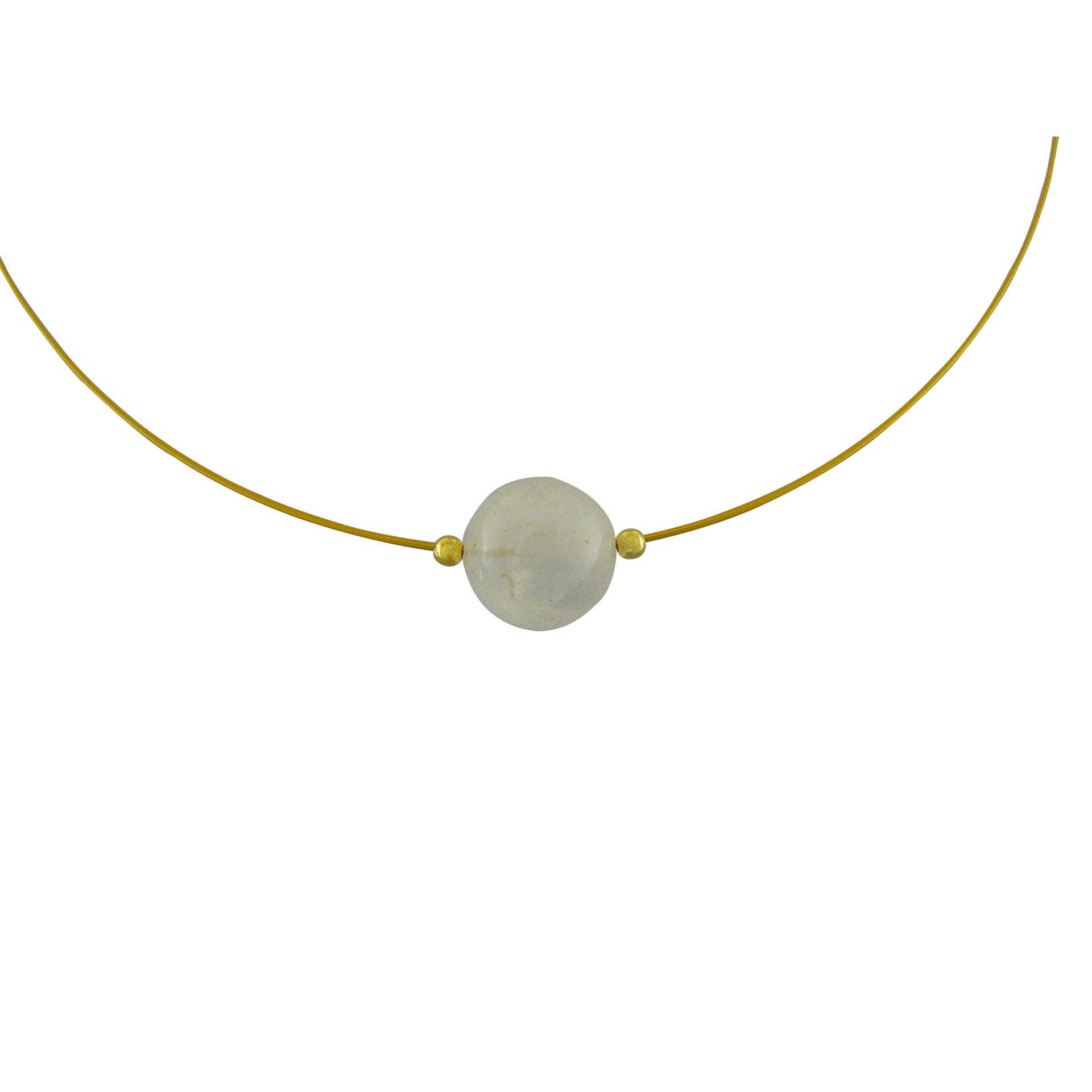 Γυναικείο Μεταγίον με Φεγγαρόπετρα - Ενεργειακή Πέτρα της Ψυχικής Ισορροπίας (Silver 925°)
