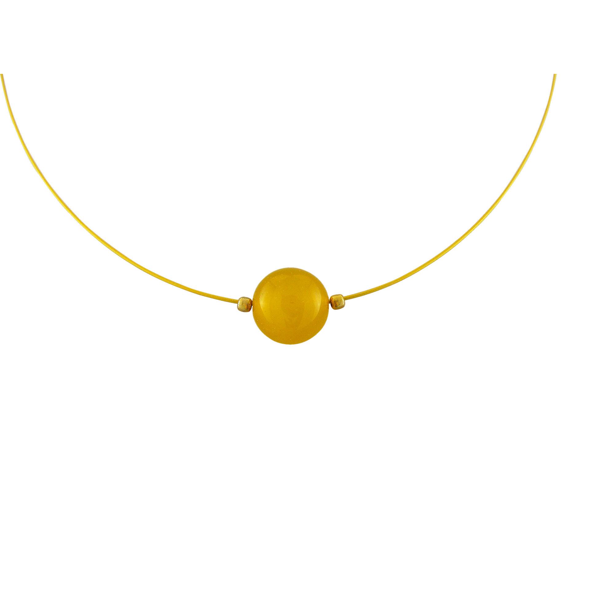 Γυναικείο Μεταγίον με Κιτρίνη - Ενεργειακή Πέτρα της Ελπίδας - (Silver 925°)