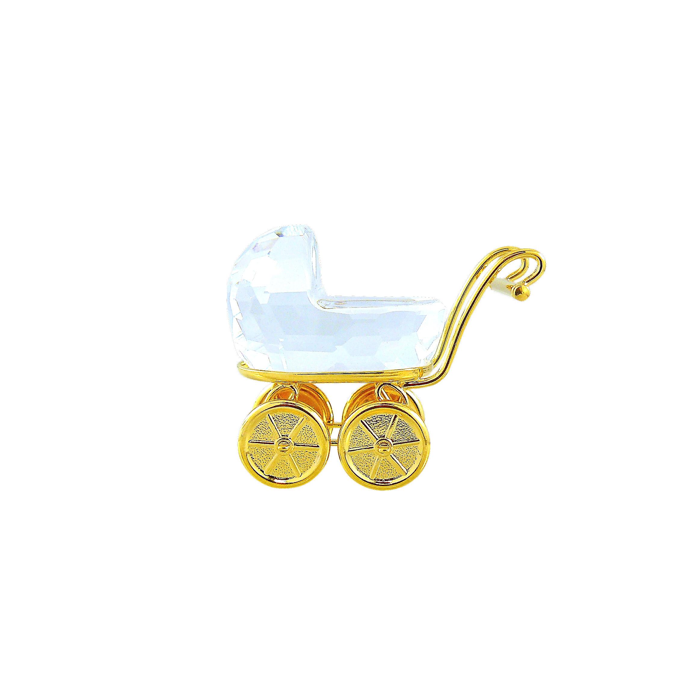 Swarovski Crystal Διακοσμητικό Παιδικό Καροτσάκι