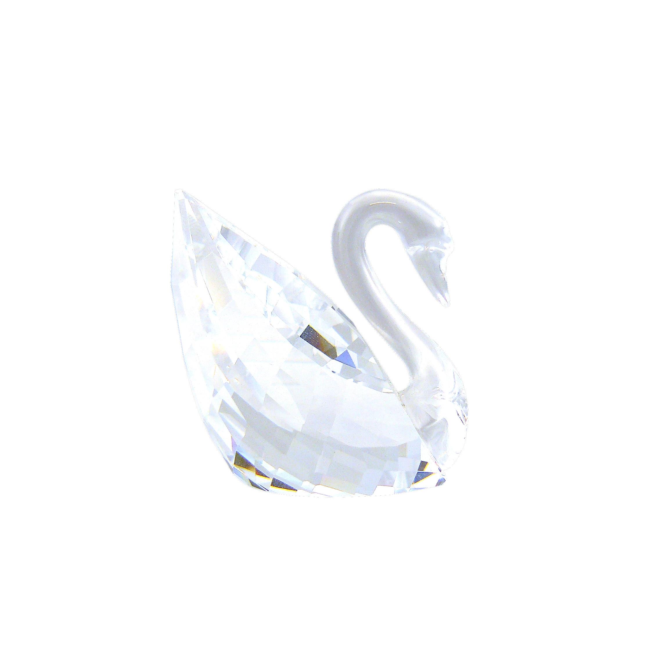 Swarovski Crystal Διακοσμητικό Κύκνος