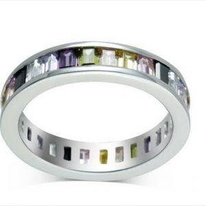 Aσημένιο Δαχτυλίδι Σειρέ (Silver 925) με Ζιργκόν C-2200