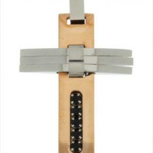 Γυναικείος Ασημένιος Σταυρός (Silver 925) C-2819