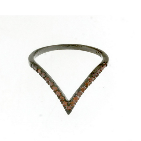 Aσημένιο Δαχτυλίδι (Silver 925) με Ζιργκόν C-3890