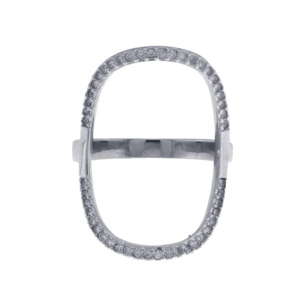 Aσημένιο Δαχτυλίδι (Silver 925) με Ζιργκόν C-63R6RH