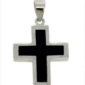 Γυναικείος Ασημένιος Σταυρός (Silver 925) C-888
