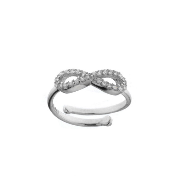 Aσημένιο Δαχτυλίδι (Silver 925) με Ζιργκόν C-8R5-C