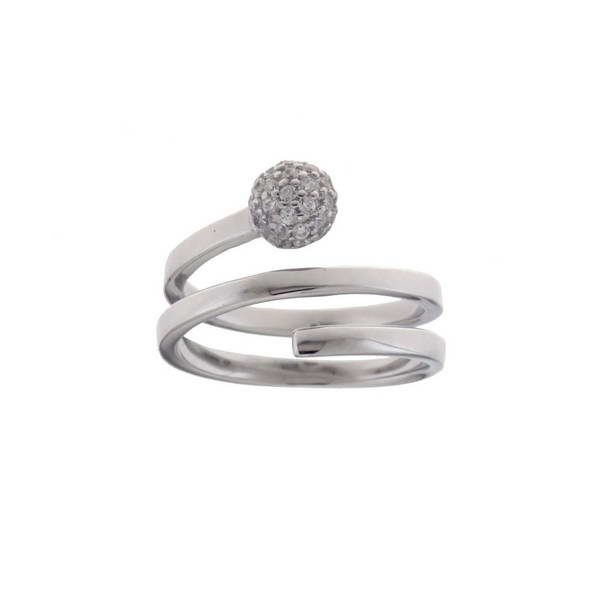 Aσημένιο Δαχτυλίδι (Silver 925) με Ζιργκόν C-A1791