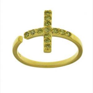 Aσημένιο Δαχτυλίδι (Silver 925) με Ζιργκόν C-A1871