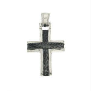 Γυναικείος Ασημένιος Σταυρός (Silver 925) C-A2248
