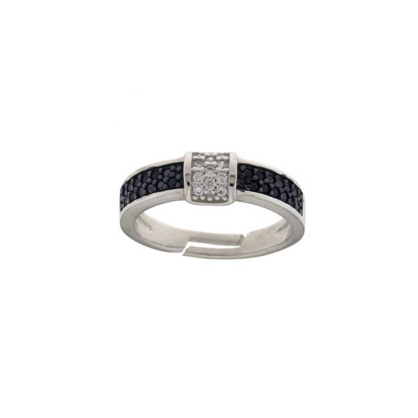 Aσημένιο Δαχτυλίδι (Silver 925) με Ζιργκόν C-A2289