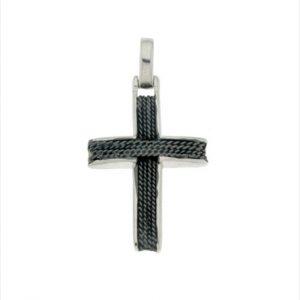 Γυναικείος Ασημένιος Σταυρός (Silver 925) C-A2389