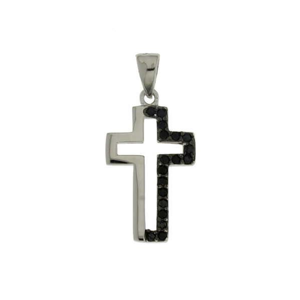 Γυναικείος Ασημένιος Σταυρός (Silver 925) C-A2437