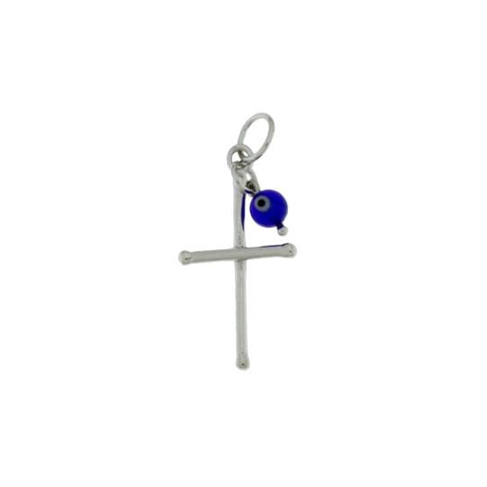Γυναικείος Ασημένιος Σταυρός (Silver 925) C-A593