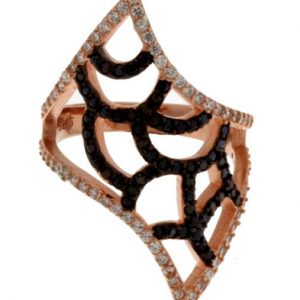 Aσημένιο Δαχτυλίδι (Silver 925) με Ζιργκόν C-B2319