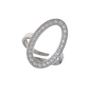Aσημένιο Δαχτυλίδι (Silver 925) με Ζιργκόν C-B2612