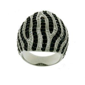 Aσημένιο Δαχτυλίδι (Silver 925) με Ζιργκόν C-B3077