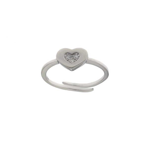Aσημένιο Δαχτυλίδι (Silver 925) με Ζιργκόν C-B3282