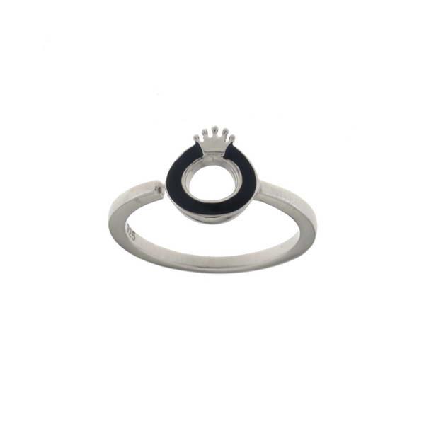 Aσημένιο Δαχτυλίδι (Silver 925) με Ζιργκόν C-B3431