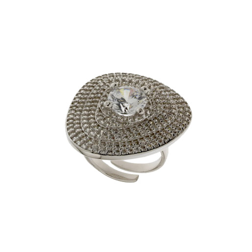 Aσημένιο Δαχτυλίδι (Silver 925) με Ζιργκόν C-B550