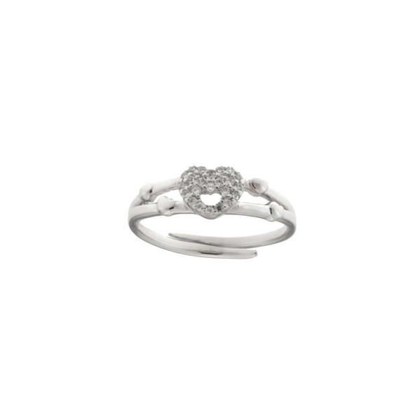 Aσημένιο Δαχτυλίδι (Silver 925) με Ζιργκόν C-C1050