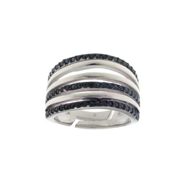 Aσημένιο Δαχτυλίδι (Silver 925) με Ζιργκόν C-C1518