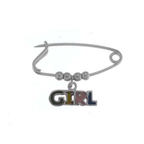 Ασημένια Παιδική Παραμάνα (Silver 925) Girl C-38BR47